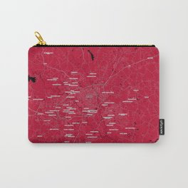 FanMap   NCAA UGA #02 Carry-All Pouch