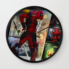Pure Moment of lucidity Wall Clock