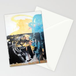 YAWNING TIGERS Stationery Cards