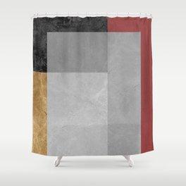 Modern geometry XII Shower Curtain