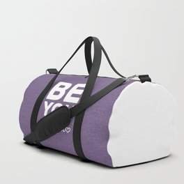 Be-You-Tiful Positive Quote Duffle Bag