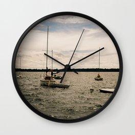 Lake Bde Maka Ska Wall Clock