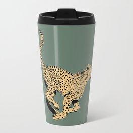 Running Cheetah Travel Mug
