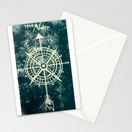 True North Green Stationery Cards