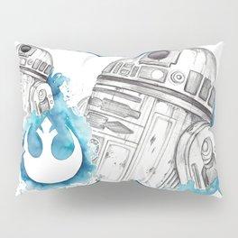 R2 Droid -blue Pillow Sham