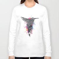 hummingbird Long Sleeve T-shirts featuring HummingBird by efan