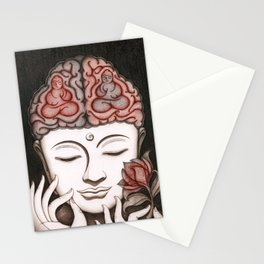 How meditation changes your brain... and makes you wiser? Stationery Cards