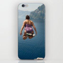 Take the Plunge iPhone Skin