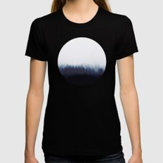 thousand eyes Womens Fitted Tee Black X-LARGE