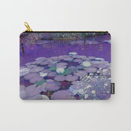 Purple Lake Dreaming Carry-All Pouch