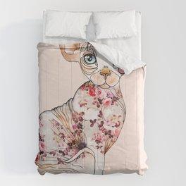 Berenice the sphynx Comforters