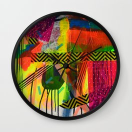 Navigating The Labyrinth Series 4 Wall Clock