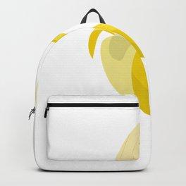 banana bananas bacon fruit banana yellow crooked Backpack