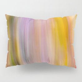 Soft Color Abstract Pillow Sham