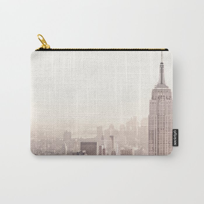 New York City Above the Cityscape Carry-All Pouch