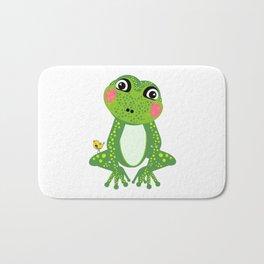 Miss Frog Bath Mat