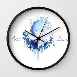 Rem Best Girl Wall Clock