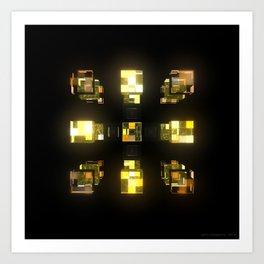 My Cubed Mind: Frame 141 Art Print