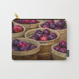 Baskets of peaches at Farmers Market Carry-All Pouch