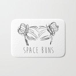 Space Buns Bath Mat