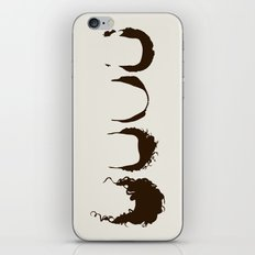 Seinfeld Hair iPhone Skin