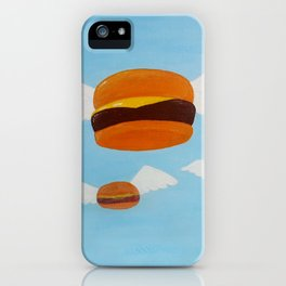 Bob's Flying Burgers iPhone Case