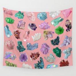 Magic Crystals Wall Tapestry