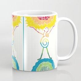 Rainbow Goddess Universe, Sun, and Earth Coffee Mug