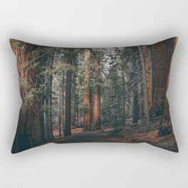 Walking Sequoia Rectangular Pillow