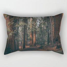 Walking Sequoia Rectangular Pillow