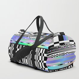 Glitch Ver.2 Duffle Bag