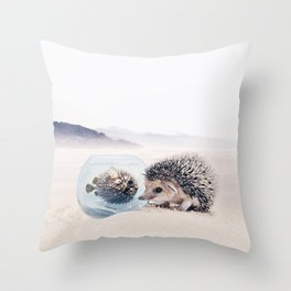 Unconditional Love II Throw Pillow
