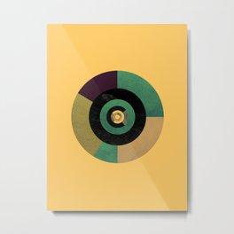 Circle Fibonacci.2 Metal Print