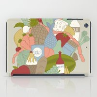 food iPad Cases featuring FOOD by Nora