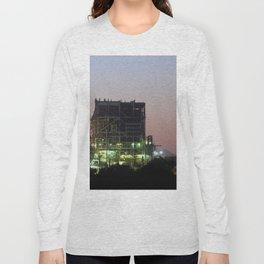 Power Station Lights Long Sleeve T-shirt