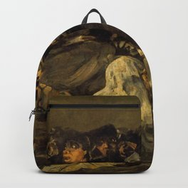 """Francisco Goya """"El Gran Cabrón o Aquelarre (The Great He-Goat or Witches Sabbath)"""" Backpack"""