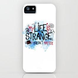 My life is strange! iPhone Case