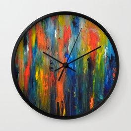 When It Rains, It Pours Wall Clock