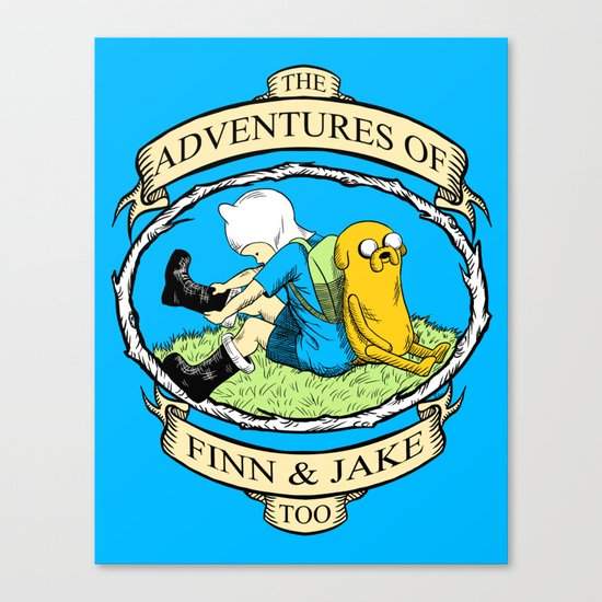 The Adventures of Finn & Jake, Too Canvas Print