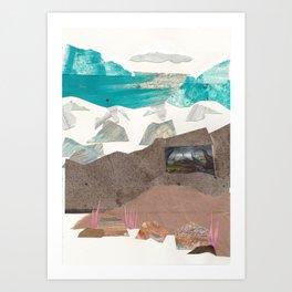 Twisted Hills Art Print