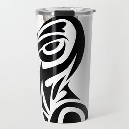 INCOGNITO (white background) Travel Mug