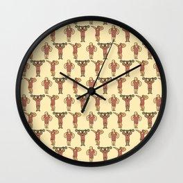 Power Strongman Wall Clock