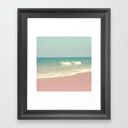 Sea waves 4 Framed Art Print