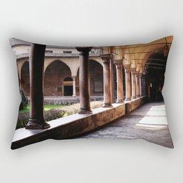 Old monastery Rectangular Pillow