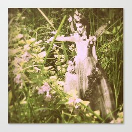 Shaylee Fairy Princess of the Field Canvas Print