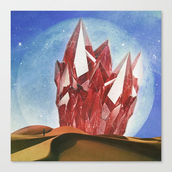 The Crystal Canvas Print