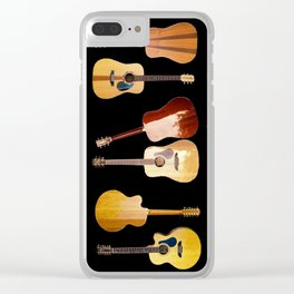 Guitars Galore Clear iPhone Case