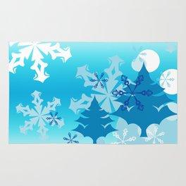 Winter Tree Holiday Rug