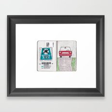 Roadtrip to Austria Framed Art Print