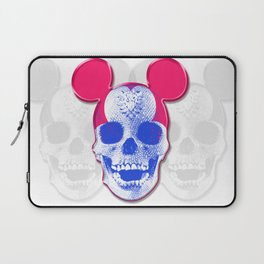 Mickey Mouse Skullface (aka Norman Bates' Dad) Laptop Sleeve